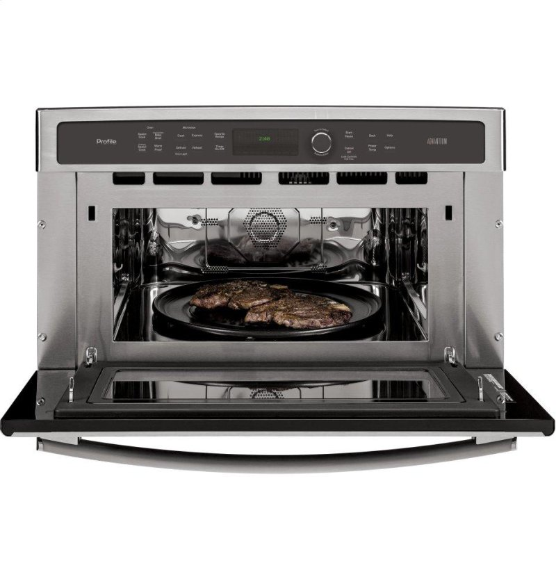 GE Profile™ Series 30 in  Single Wall Oven with Advantium® Technology