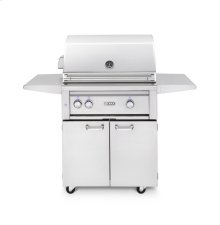"30"" Freestanding Grill - All Trident w/ Rotisserie NG"