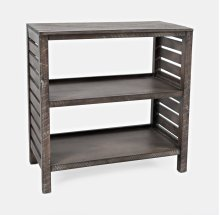 Global Archive Clark Bookcase - Stonewall Grey