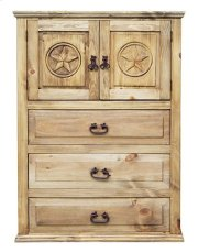 Econo 2 Door 3 Drw Chest W/tx Product Image