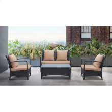 Havana 4 Piece Outdoor Wicker Patio Set