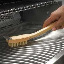 """Grill Brush with Brass Bristles 18"""""""