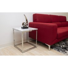 Marble Finish End Table