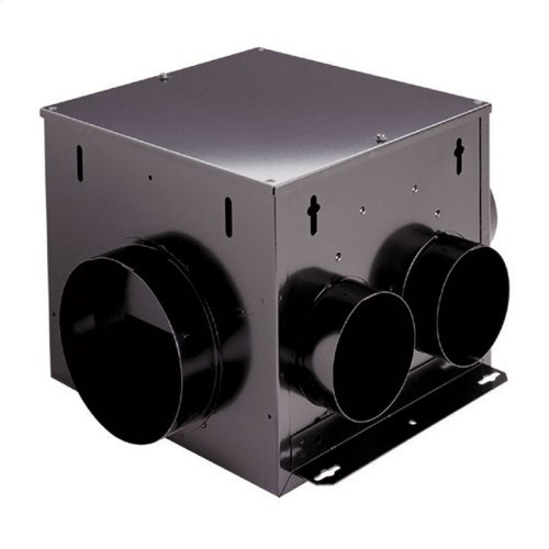Multi-Port In-Line,Ventilator, 110 CFM