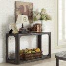 Sofa Table - Weathered Worn Black Finish Product Image