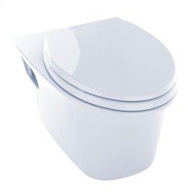 Maris® Wall-Hung Dual-Flush Toilet, 1.6 GPF & 0.9 GPF, Elongated Bowl - Cotton