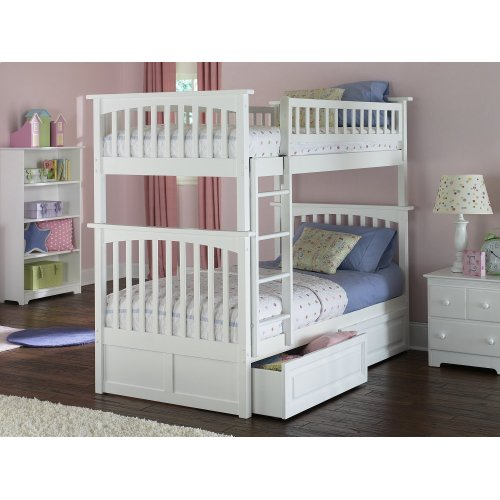 Ab55122 In By Atlantic Furniture In St Albans Vt Columbia Bunk
