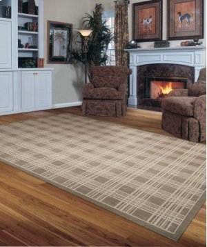 Hollywood Shimmer Ki102 Moc Rectangle Rug 9'3'' X 12'9''