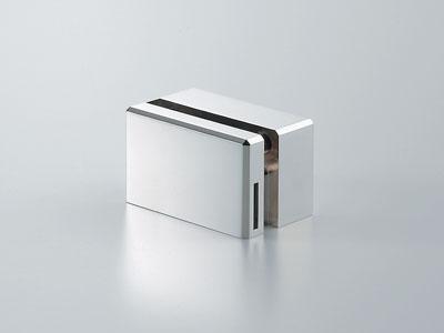 Glass Door Lock for Swinging Double Doors