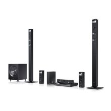 3D-Capable Blu-ray Disc Home Theater System with Smart TV and Wireless Speakers