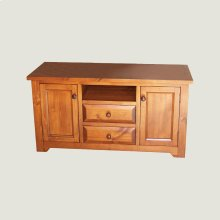 TV Stand with 2 doors & 2 drawers