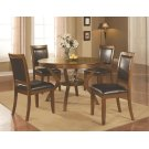 Nelms Casual Brown Walnut Five-piece Dining Set Product Image