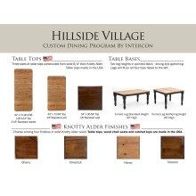 Hillside Village Dining Room Furniture