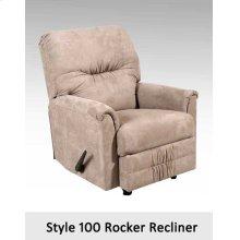 Sienna Chocolate 100RCL - 100 Rocker Recliner