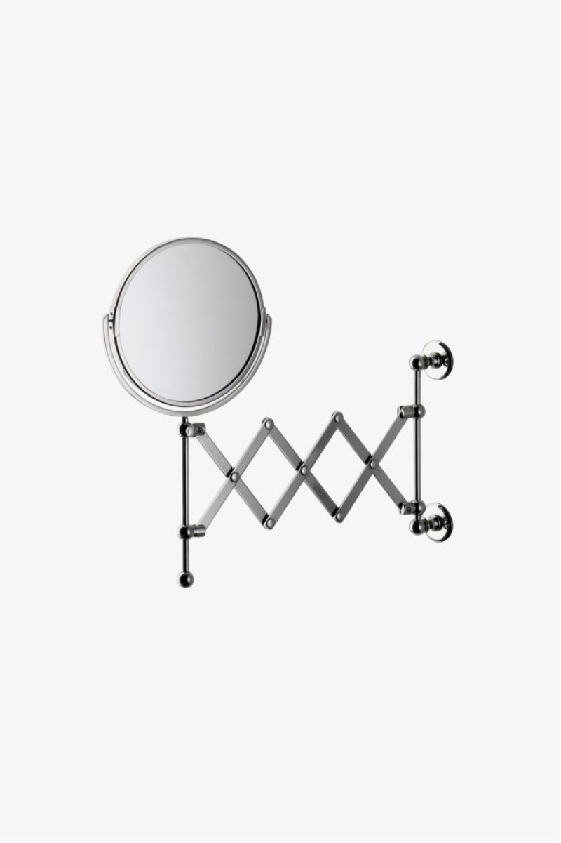 Crystal Wall Mounted 7 1 4 Dia Magnifying Extension Mirror Style Crmr38
