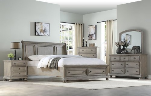 Ashcott King Bed