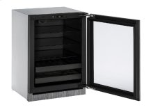 "Modular 3000 Series 24"" Beverage Center With Integrated Frame Finish and Field Reversible Door Swing"