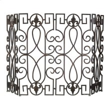 Wrought Iron Fire Screen