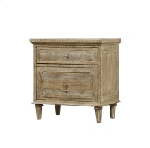 Emerald Home Interlude 2 Drawer Nightstand Sandstone B560-04