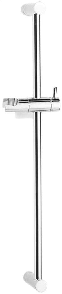 Satin Nickel (us15) Slider rail