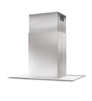 "Intesa - 39-3/8"" x 27-5/8"" Stainless Steel Island Range Hood with iQ6 Blower System, 600 CFM"
