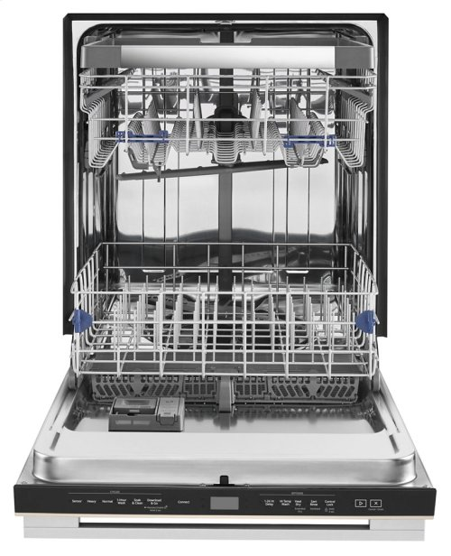 Contemporary Design. Smart Dishwasher with Contemporary Handle