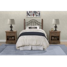 Madison Twin Duo Panel (headboard or Footboard)