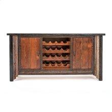 Cody 2 Door Wine Cabinet