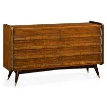 Hyedua Mid-Century Eight-Drawer Dresser