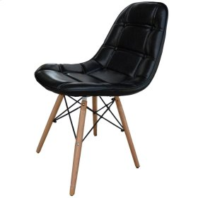 Neo Side Chair, Black