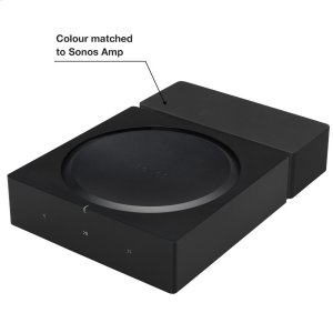 SonosBlack- Secure mount for walls.