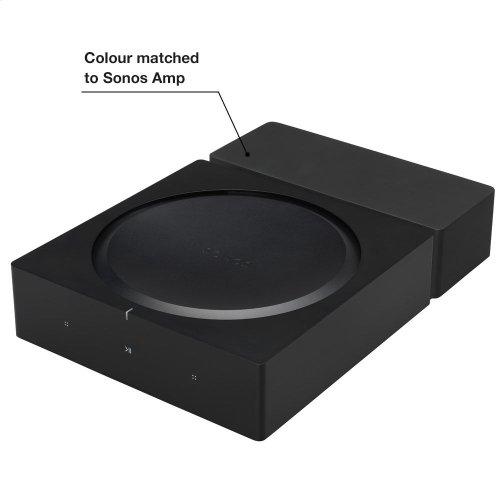 Black- Secure mount for walls.