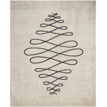 Christopher Guy Wool & Silk Collection Cgs09 Sea Sand Rectangle Rug 6' X 9'