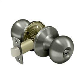 Portland Knob Privacy - Antique Nickel