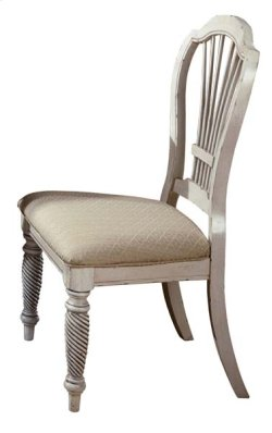 Wilshire Dining Side Chair Antique White Product Image