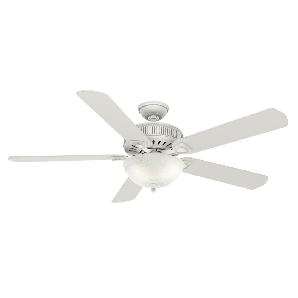 Ainsworth Gallery with Light 60 inch Ceiling Fan  COTTAGE WHITE