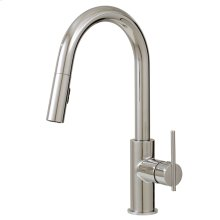 Pull-down dual stream mode kitchen faucet