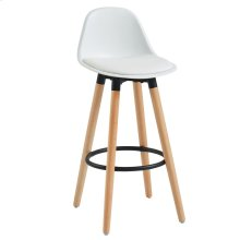 Diablo 26'' Counter Stool, set of 2, in White