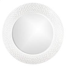 Bergman Mirror - Glossy White