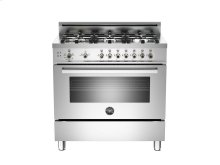 36 6-Burner, Gas Oven Stainless ***FLOOR MODEL CLOSEOUT PRICING***