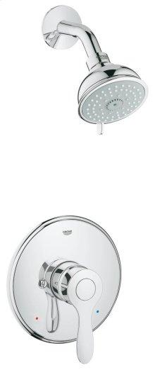 Parkfield Pressure Balance Valve Bathtub/Shower Combo Faucet