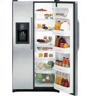 GE® ENERGY STAR® 25.3 Cu. Ft. Side-By-Side Refrigerator with Dispenser