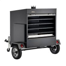 Large Commercial Pellet Grill Trailer