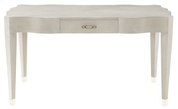 Criteria Leather Desk in Criteria Heather Gray (363) Product Image
