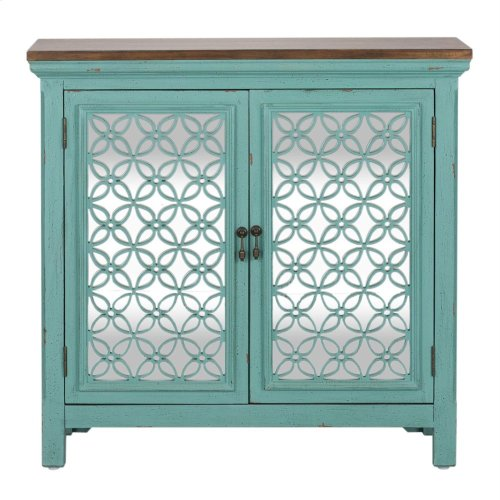 2 Door Accent Cabinet