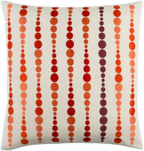 "Dewdrop DE-001 20"" x 20"" Pillow Shell with Polyester Insert"