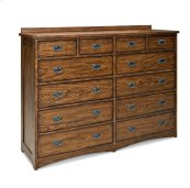 Oak Park 12 Drawer Dresser