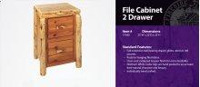 File Cabinet - 2 Drawer