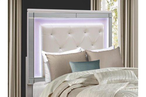 California King Bed, LED Lighting
