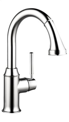 Chrome Talis C 2-Spray Prep Kitchen Faucet, Pull-Down, 1.75 GPM